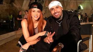 Shakira compartió nueva imagen del video de 'Perro fiel', tema junto a Nicky Jam