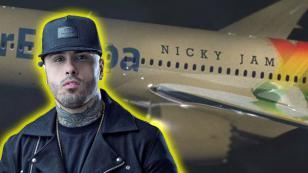 ¿Nicky Jam tendrá avión personalizado?