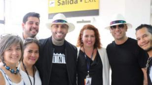 Nicky Jam y Wisin graban video de 'Si tú la ves' en este país [FOTOS]