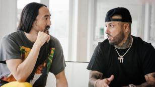 Nicky Jam y Steve Aoki presentan su nuevo tema: 'Jaleo'