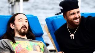 Nicky Jam y Steve Aoki revelan primer adelanto de 'Jaleo'