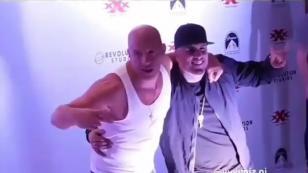 Nicky Jam y Vin Diesel dan una muestra de humildad y transparencia [VIDEO]