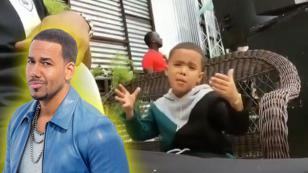 Niño sorprende a Romeo Santos con su entrega para cantar 'Sobredosis'