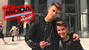 Adexe & Nau revelaron el origen de 'Solo amigos' en entrevista en vivo con Radio Moda