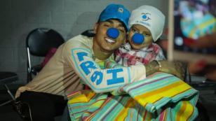 Ozuna cumplió el sueño de niño con cáncer terminal