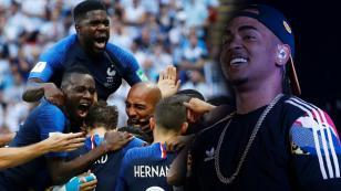 Jugadores franceses celebraron victoria en el Mundial al ritmo de Ozuna