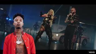 ¿Por qué no apareció 21 Savage en el remix de 'Krippy Kush'?