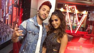 Prince Royce apoyará a Anitta en 'La Voz México'
