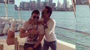 Prince Royce y Marc Anthony causan revuelo en las redes sociales con sensual baile