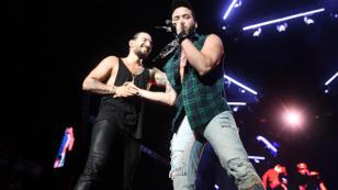 Prince Royce y Maluma celebran los 100 millones de views con 'El clavo'