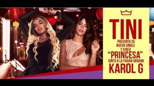 'Princesa', lo nuevo de Karol G junto a Tini Stoessel [VIDEO]