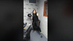 ¡Qué tal bailecito se metió Giovanna Valcárcel en '¡Qué Paja!' [VIDEO]