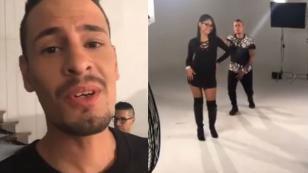 ¡Así van las grabaciones del videoclip de 'No te vayas' de Ráfaga!