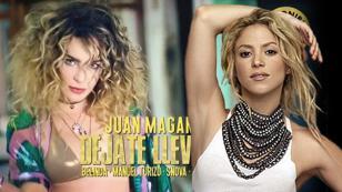 ¿Referencia o Copia? Belinda es criticada por tener look parecido al de Shakira