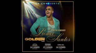 Romeo Santos anuncia nuevas presentaciones en México
