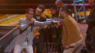 Romeo Santos demuestra su admiración por Marc Anthony [VIDEO]