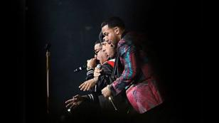 Romeo Santos empezó el 'Golden tour' junto a Daddy Yankee y Nicky Jam [FOTOS Y VIDEOS]