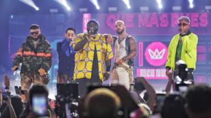Sech brilló en los Premios Juventud