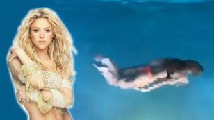 Shakira, convertida en sirena nocturna, fue la sensación en Facebook [VIDEO]