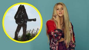Shakira y su gran monumento en Barranquilla