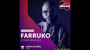 ¡Sin miedo a nada! Farruko confirma su presencia en los Latin Billboard