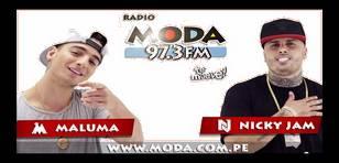 Nicky Jam y Maluma son protagonistas del nuevo spot de Moda