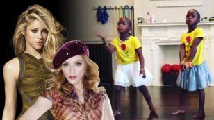 Todas quieren ser Shakira, incluso las hijas gemelas de Madonna