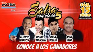 ¡Salieron los ganadores de las entradas para el Salsa con Clase 5!