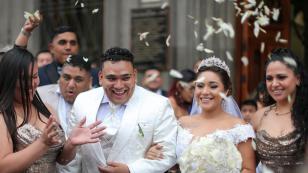Vocalista de Josimar y su Yambú se casó y festejó a lo grande [FOTOS]