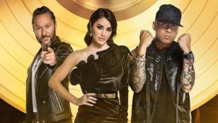 Wisin cantó junto a Lali Espósito y Diego Torres en el debut de 'Talento Fox'