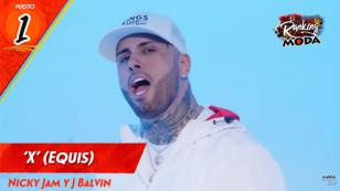 'X' (Equis), de Nicky Jam y J Balvin, es la nueva amenaza para Daddy Yankee en el Ranking Moda [VIDEO]