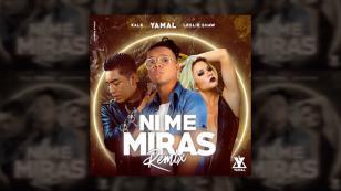 ¡Ya está disponible el remix de 'Ni me miras'! Leslie Shaw, Yamal y Kalé, juntos por primera vez [VIDEO]