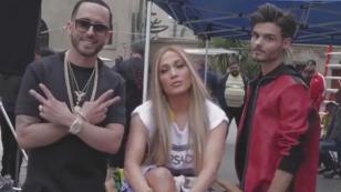 Yandel mostró adelanto de 'Se acabó el amor' junto a Abraham Mateo y Jennifer López