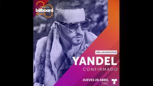 Yandel se suma a los artistas que estarán presentes en la gala de Latin Billboard