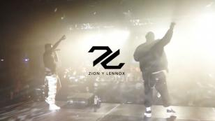 Zion & Lennox celebraron el billón de streamings en plataforma digital con concierto gratuito [VIDEO]