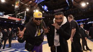 Zion & Lennox fueron invitados de lujo en partido de la NBA