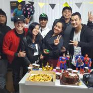 ¡Revive los festejos por el cumpleaños de Carloncho! [FOTOS Y VIDEOS]