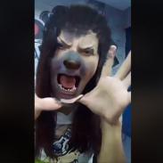 Lesly Carol, convertida en una mujer loba fatal [VIDEO]