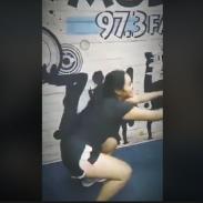 Marianita se pone en forma [VIDEO]