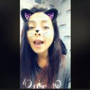 Me pareció ver una linda gatita y se llama Lesly Carol [VIDEO]
