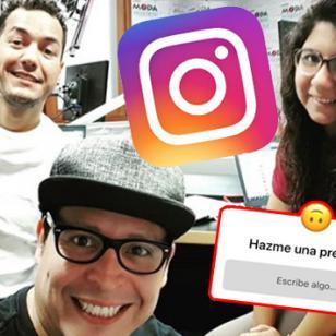 Carloncho, Renzo y Lucecita repsondieron las preguntas de sus oyentes al mismo estilo de Instagram
