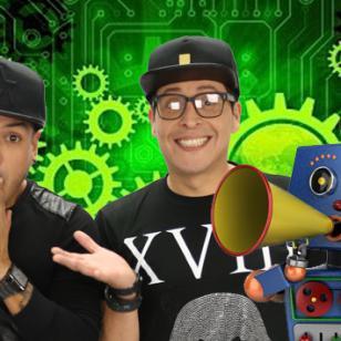 Jorge Junior y la Tía Portona le dieron la bienvenida a RX, el nuevo personaje de Radio Moda