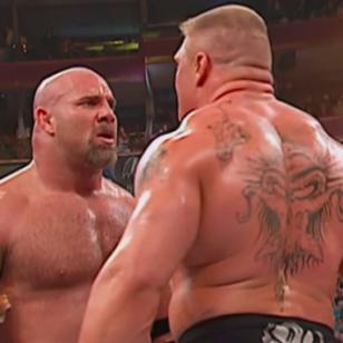¿Cómo acabará la pelea de Goldberg y Brock Lesnar en WWE? Forbes hizo este pronóstico