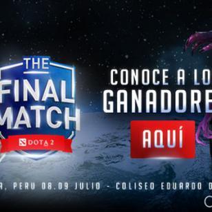 ¡Estos son los ganadores de las entradas para el torneo de Dota 2 The Final Match!