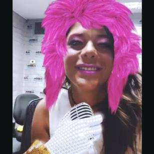 Giovanna Valcárcel, en modo retro [VIDEO]