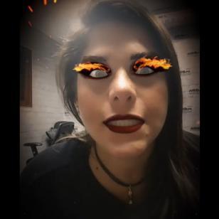 Giovanna Valcárcel está tan loca que echa fuego [VIDEO]