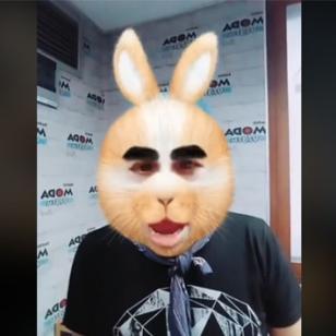 Jojojonathan, en modo 'Amorfoda', de Bad Bunny [VIDEO]