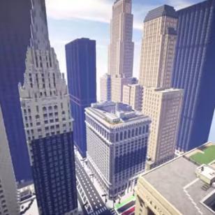 La ciudad de Chicago fue recreada en 'Minecraft' y luce increíble [VIDEO]