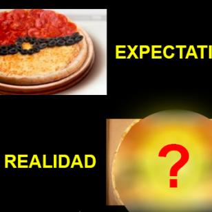 Por 'Pokémon GO', prometieron hacer una pizza similar a la pokébola, pero este fue el resultado