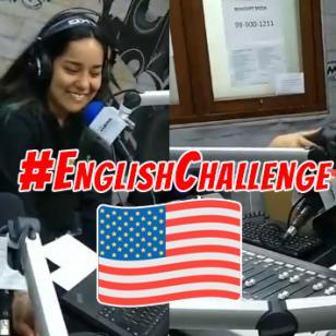 Marianita perdió su celular en el #EnglishChallenge contra Carloncho